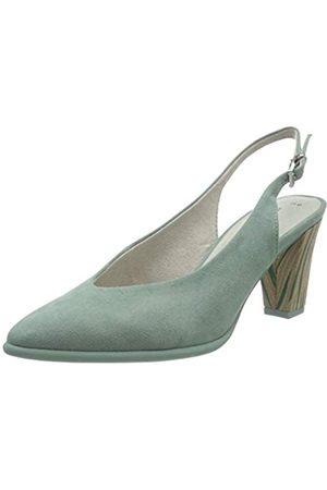 Marco Tozzi Women's 2-2-29601-24 Sling Back Sandals, (Sage 732)