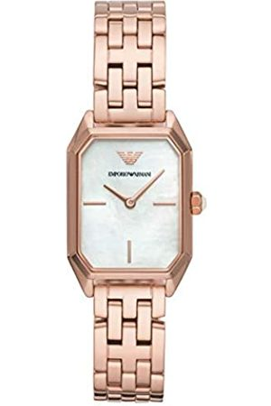 Emporio Armani Womens Analogue Quartz Watch with Stainless Steel Strap AR11147