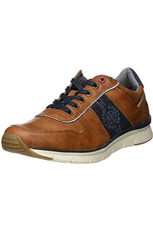 Mustang Men's 4137-302-307 Low-Top Sneakers, (Cognac 307)