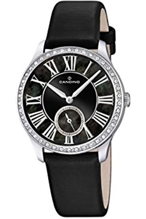 Candino Women's Quartz Watch with Dial Analogue Display and Leather Strap C4596/3