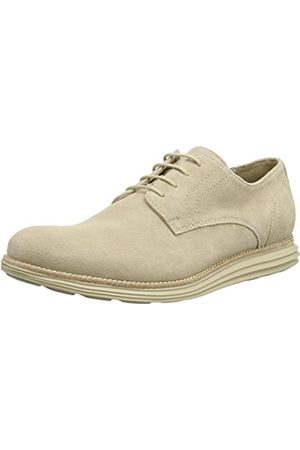 Calvin Klein Men's Sean Suede Oxfords, (Cork)