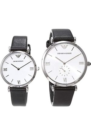 Emporio Armani Quartz Watch with Leather Strap AR90003