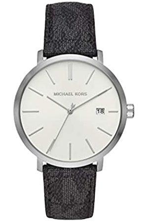 Michael Kors Quartz Watch with Leather Strap MK8763
