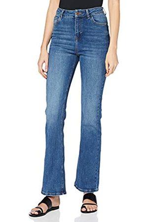 New Look Women's AW19 WAIST ENHANCE BOOTCUT Jeans