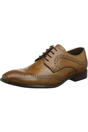 Red Tape Mens Mottram Tan Formal Shoe, (Tan)