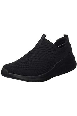 Skechers Men's Ultra Flex 2.0 Slip On Trainers, ( Knit/ Trim BBK)