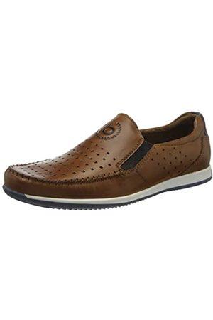 Bugatti Men's 311907603500 Loafers, (Cognac 6300)