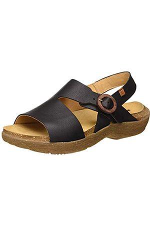 El Naturalista Women's N5700 Soft Grain WAKATIWAI Open Toe Sandals
