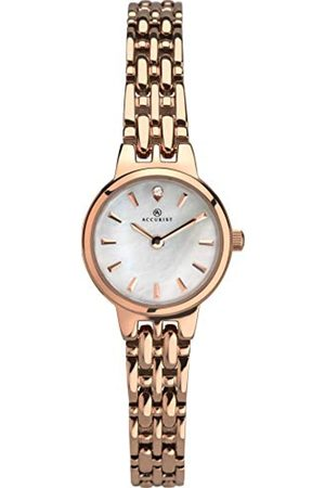 Accurist Women's Analogue Quartz Watch with Stainless Steel Strap 8233