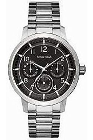 Nautica Mens Analogue Quartz Watch with Stainless Steel Strap NAD16559G