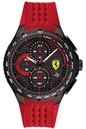 Scuderia Ferrari Men's Analogue Quartz Watch with Silicone Strap 0830727