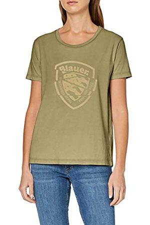Blauer Women's T-Shirt Manica Corta Kniited Tank Top