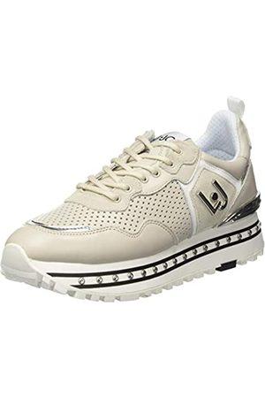 Liu Jo Women's Maxi Alexa-Running Calf Low-Top Sneakers, (Taupe S1802)