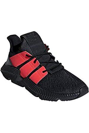 adidas Men's Prophere Gymnastics Shoes, (Carbon/Solar /Carbon)