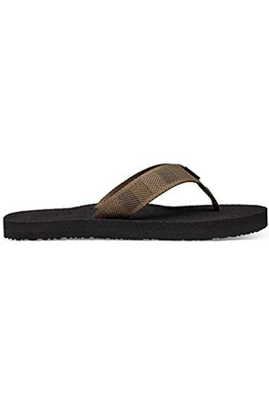 Teva Men's Mush II Open Back Slippers, (Raki Dark Olive RDOL)