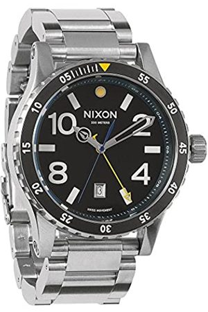 Nixon Men's Watch XL Diplomat SS Dial Analogue Display and Stainless Steel A 277000-00