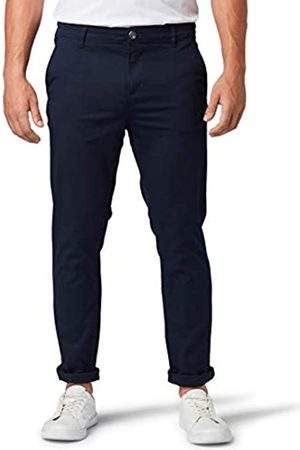 TOM TAILOR Men's Slim Chino Trouser, 10668-Sky Captain