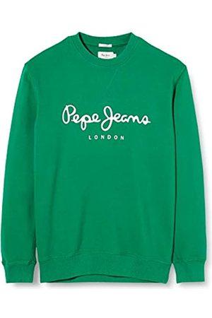 Pepe Jeans Men's George Sweatshirt, (Pine 672)