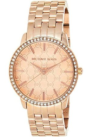 Michael Kors Womens Analogue Classic Quartz Watch with Stainless Steel Strap MK3156
