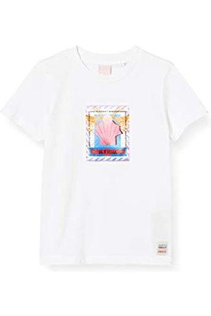 Scotch&Soda Girl's Regular Fit Short Sleeve Tee in Organic Cotton T-Shirt