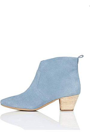FIND Casual Western Cowboy Boots, Blau (Faded )