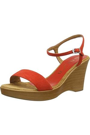 unisa Women's Rita_20_ks Platform Sandals, (Corallo Corallo)