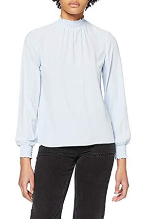 Dorothy Perkins Women's Plain Shirred Neck Top Blouse