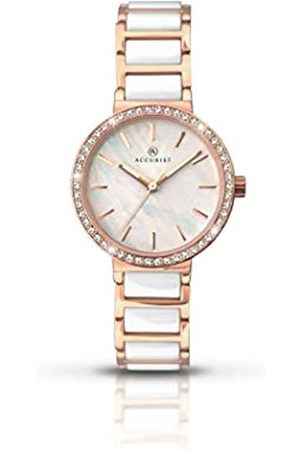 Accurist Womens Analogue Classic Quartz Watch with Stainless Steel Strap 8086.01