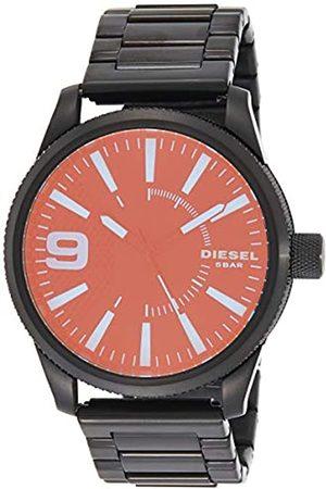 Diesel Mens Analogue Quartz Watch with Stainless Steel Strap DZ1844