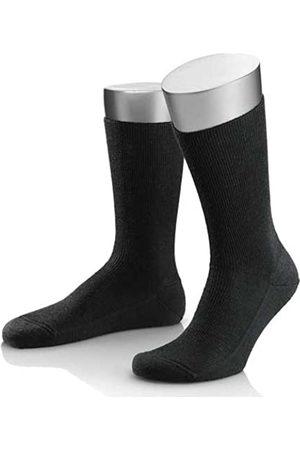 LUSANA Men's Komfortstützsocke Middle Socks