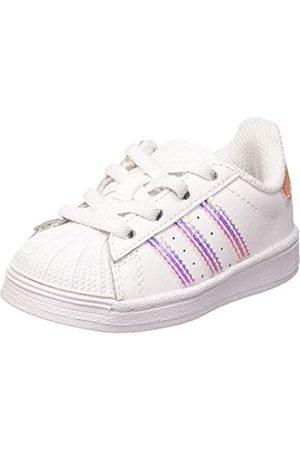 adidas Unisex Kids' Superstar El I Sneaker, FTWR /FTWR /FTWR