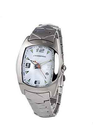 Chronotech Mens Analogue Quartz Watch with Stainless Steel Strap CT7504-09M