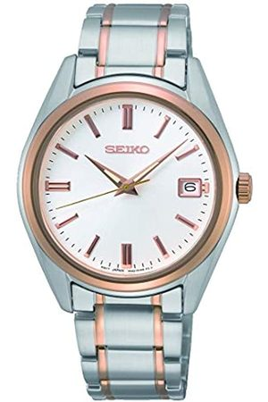 Seiko Men's Analogue Analog Quartz Watch with Two-Tone Steel Strap SUR322P1