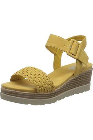 Leatherman Women's 44003 Platform Sandals, (Amarillo Amarillo)