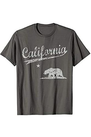 Tee Styley Vintage Distressed California Republic T Shirt Men Women T-Shirt