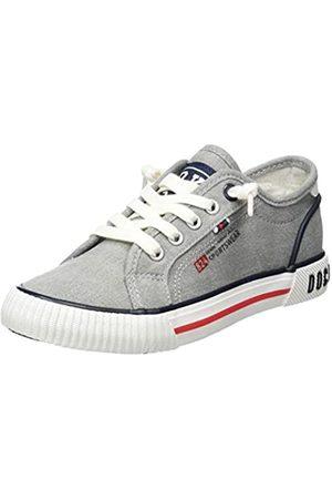 Dockers by Gerli Unisex Kids' 46mc602-710202 Low-Top Sneakers, (Grau/Multi 202)
