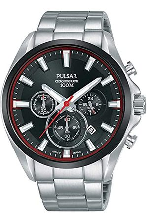 Pulsar Men's Analogue Quartz Watch with Stainless Steel Strap 8431242963662