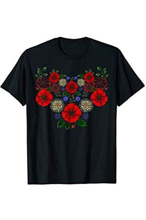 Ukrainian shirt embroidery girls vyshyvanka  short sleeve t-shirt