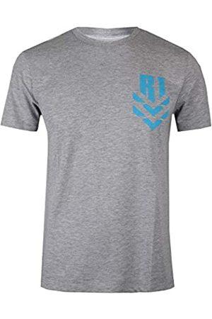 STAR WARS Men's TIE Fighter Battle T-Shirt, Grey Marl