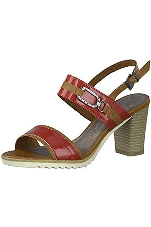 MARCO TOZZI Women's 2-2-28704-24 Ankle Strap Sandals, ( Comb 597)
