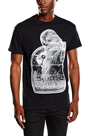 STAR WARS Men's VII Chewbacca Photocopy Short Sleeve T-Shirt
