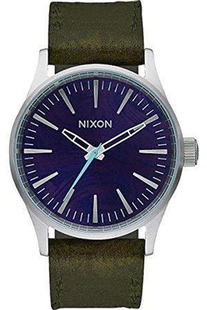Nixon Unisex Watch Analogue Quartz Leather A3772302