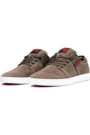 Supra Unisex Adults' Stacks Ii Skateboarding Shoes, (Olive/Demitasse- -M 369)