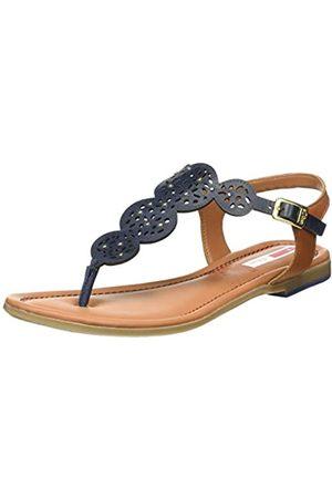 s.Oliver Women's 5-5-28102-24 Flip Flops, (Navy 805)