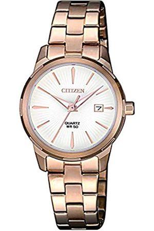 Citizen Womens Analogue Quartz Watch with Stainless Steel Strap EU6073-53A