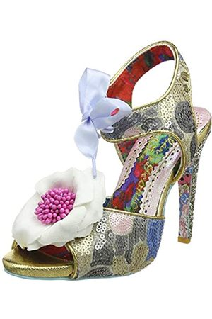 Irregular Choice Women's Flower Bee Open Toe Heels, ( Dark)
