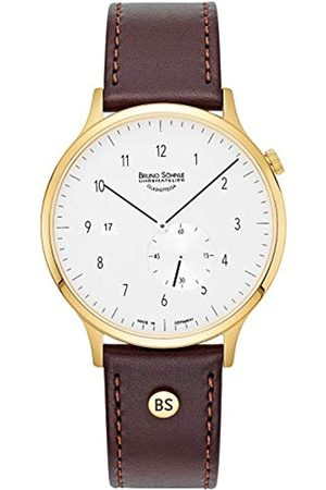 Bruno Söhnle Mens Analogue Quartz Watch with Real Leather Strap 17-33212-261