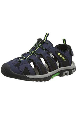 Hi-Tec Boys' Cove JR Sports Sandals, (Night/ /Lime 021)