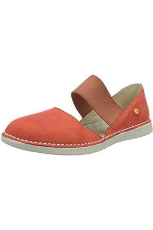 softinos Women's Teja576sof Espadrille Wedge Sandal, (Devil 003)