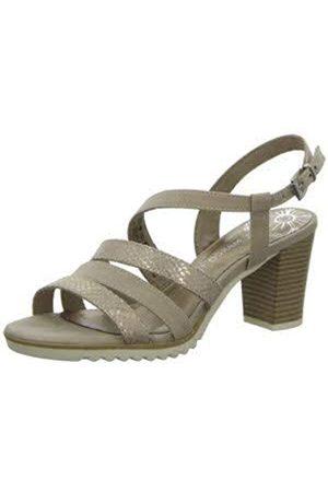 Marco Tozzi Women's 2-2-28705-24 Ankle Strap Sandals, (Dune Comb 435)